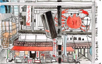 Dotonbori Osaka by Emi801