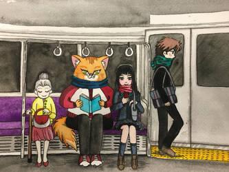 Train ride by Emi801