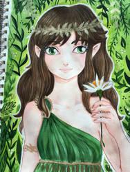 Green spirit  by Emi801