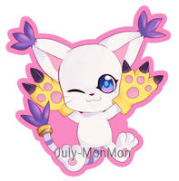 Tailmon Chibi by July-MonMon