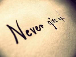 Never ... by MateuszPisarski