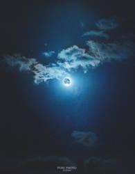 cloudy moon by MateuszPisarski