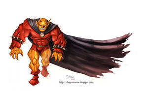 Etrigan the Demon by diegosimone