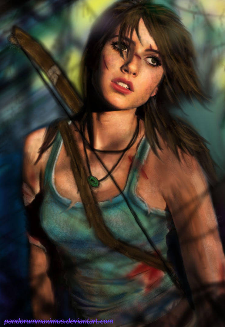 Tomb Raider by oO-Monkey-Oo