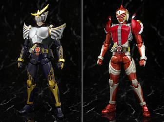 [Custom] SHF Gaim Ryuki Arms / Baron Den-o Arms by myhaha1000