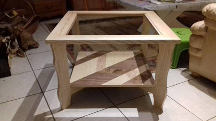 table without glass by Saprophyte2002