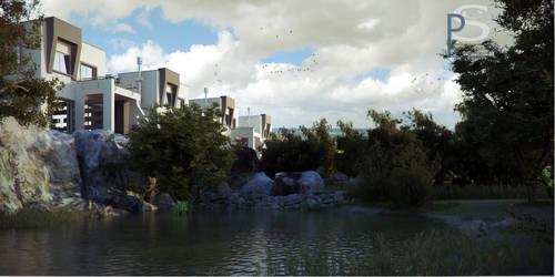 Lake Houses.01 by pitposum