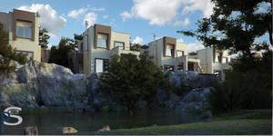 Lake Houses.02 by pitposum