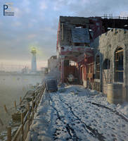 old street 12.snowy by pitposum