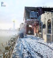 old street 12.snowy.2 by pitposum