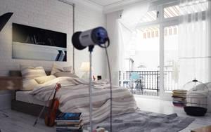 interior bedroom by pitposum