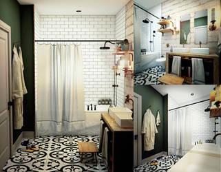 Bathroom by pitposum