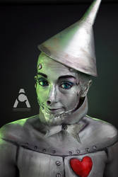 Tin Man - Wizard Of Oz by Prettyscary