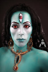 Hindu Goddess by Prettyscary