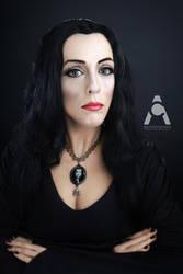 Morticia Addams by Prettyscary