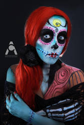 Sally Sugar Skull by Prettyscary