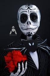 Jack Sugar Skull Skellington by Prettyscary