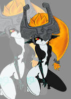 -Devious Midna- by Foxtail-89