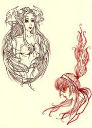 Lineart 2 by fionaa-illu