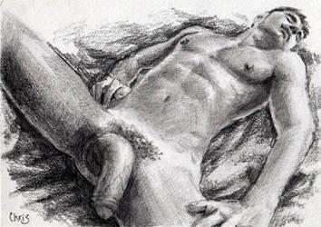 Sleeping - ACEO by kuguttene