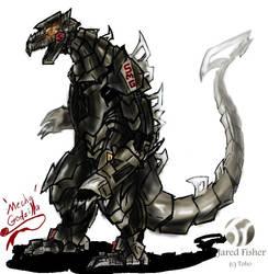 Go G: Mecha Godzilla by Vagrant-Verse
