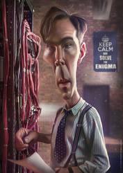 Benedict Cumberbatch - Imitation game by SigmaK