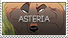 Asteria Stamp by halloumicheese