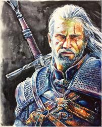 Geralt_WildHunt by ArtKosh