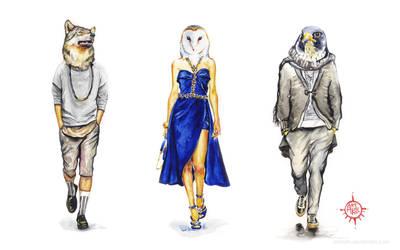 Animal_fashion#2 by ArtKosh