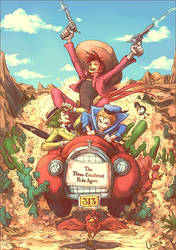 The Three Caballeros Ride Again by chacckco