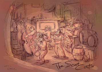 The Scat Cats by chacckco