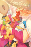 Happy Birthday My Caballeros by chacckco