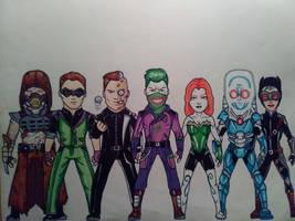 Batman Villains by KingCozy7