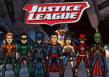 Justice League of America/DC Nation by KingCozy7
