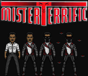 Michael Holt/Mister Terrific (The DC Nation) by KingCozy7