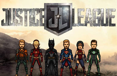 Justice League Request by KingCozy7