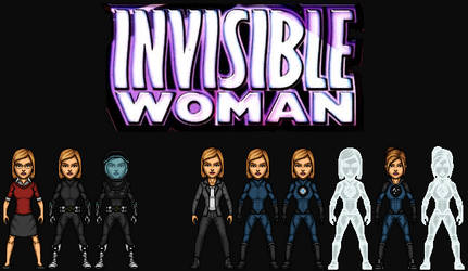 Susan Storm/ Invisible Woman (The MCEU) by KingCozy7