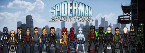 The Amazing Spider-Man: Season 2 by KingCozy7