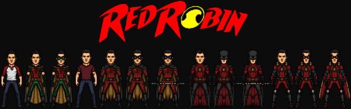 Tim Drake/Red Robin (The DC Nation) by KingCozy7