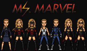 Carol Danvers/ Ms. Marvel (The MCEU) by KingCozy7