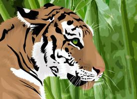 Tiger Tiger by Mushroom-Jelly