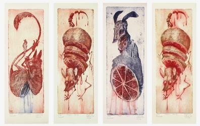 Juicy Triumvirate in color by Szczurzyslawa