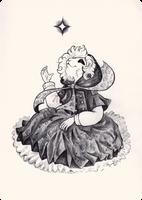 Inktober|OC-tober - Day 7 : The Most Mysterious by Szczurzyslawa