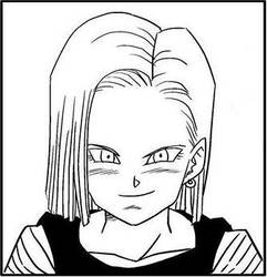 Android 18's Rape Face by Nintendoisforme