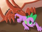 Dragon Snack by Shikogo