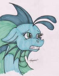 Inktober 13: Scared by Shikogo