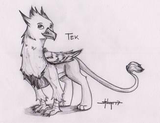 [Sketch Commission] Tek by Shikogo