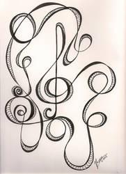 Music Doodle by NanaCasas