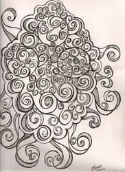 Swirly Doodle by NanaCasas