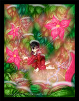 Kagome's Flowers by doglover2006